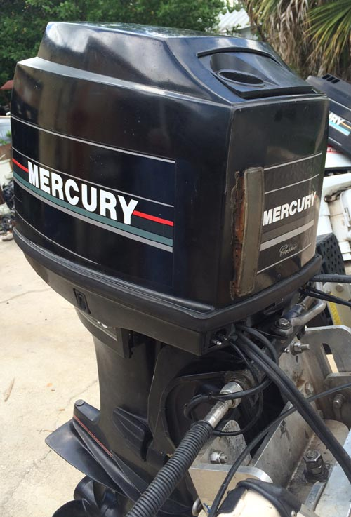 40 Hp Mercury Outboard For Sale