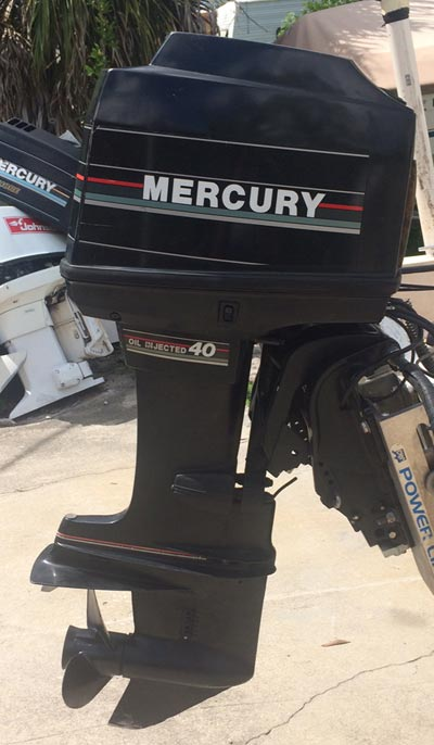 Boston Whaler Boats For Sale >> 40 hp Mercury outboard for sale