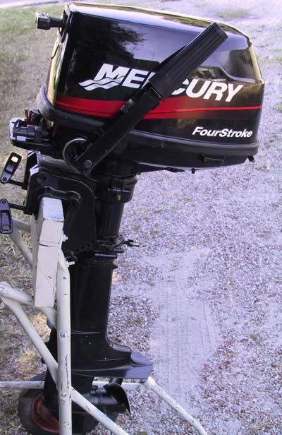 Used mercury 4 hp outboard 4 stroke outboards for Mercury 4 hp boat motor