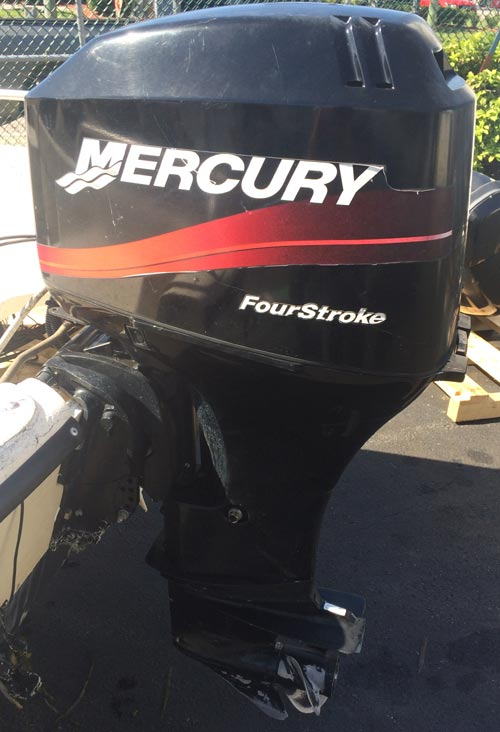 50 Hp Mercury 2 Stroke Elpto For Sale