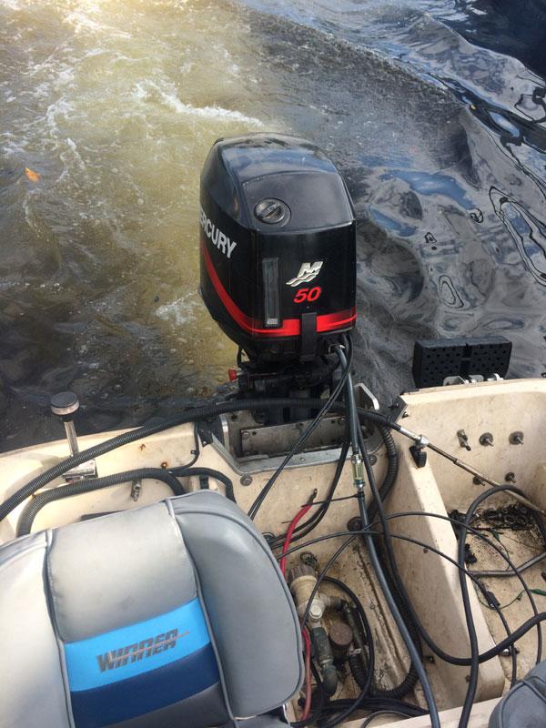 50 Hp Mercury Outboard Boat Motor For Sale