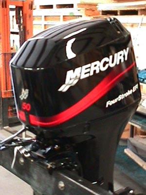 2005 New Mercury 50 Hp 4 Stroke Efi Outboard Motor