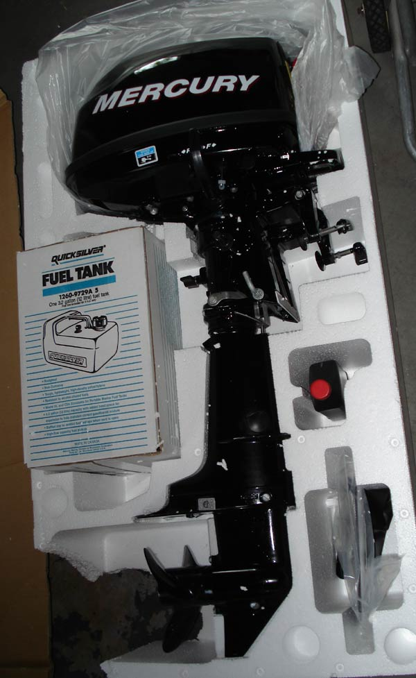 New 5 Hp Mercury Outboard For Sale 4 Stroke