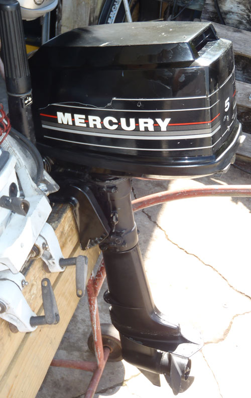 Used Mercury 5 Hp Outboard For Sale Mercury Outboards 2001