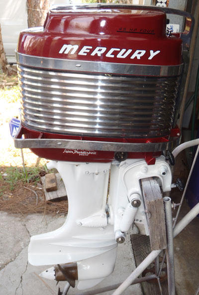 Vintage Antique Mark58a 45 Hp Mercury Outboard For Sale