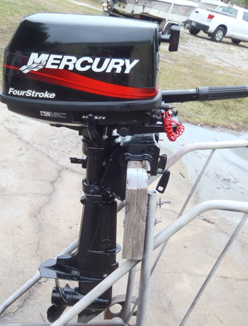 6 Hp Mercury 4 Stroke Outboard For Sale