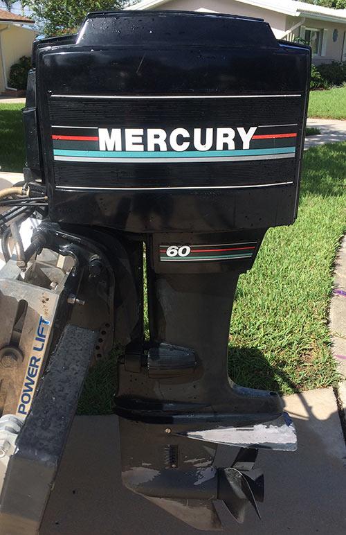 60 Hp Mercury Outboard Boat Motor For Sale