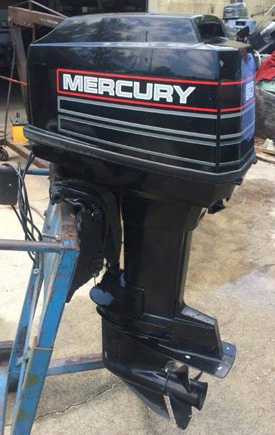 60 hp mercury outboard boat motor for sale
