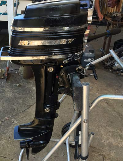 Small Outboard Motors >> 6 hp Mercury Outboard Motor For Sale