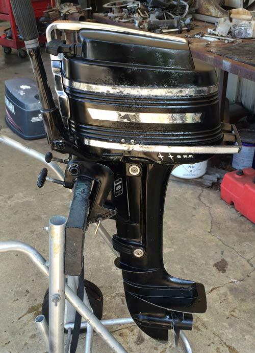 6 Hp Mercury Outboard Motor For Sale