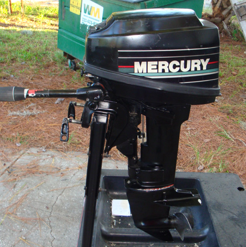 Used Small Boat Engines For Sale: 6 Hp Mercury Outboard Motor For Sale