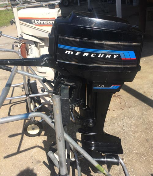 Mercury 7 5 Hp Long Shaft