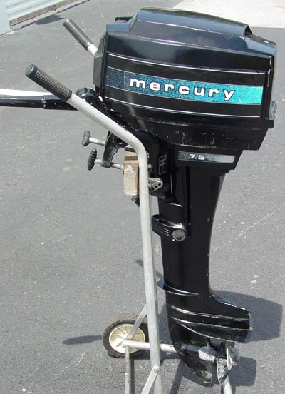 Mercury 7 5 hp long shaft for Long shaft trolling motor for sale