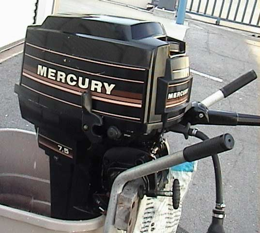 Used Mercury Outboard Boat Motor Long Shaft Mercury
