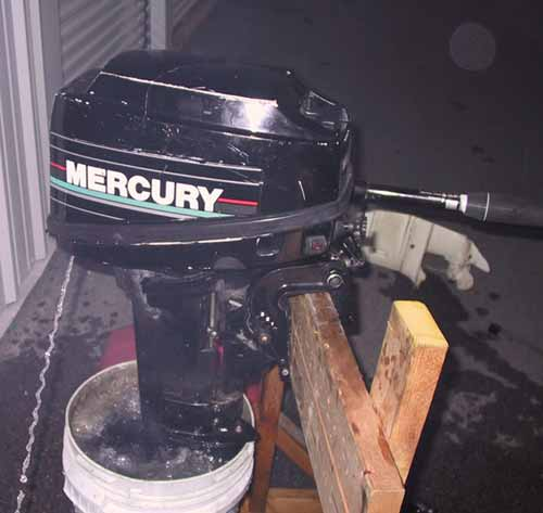 DomesticSale: Used 25 hp outboard motor for sale