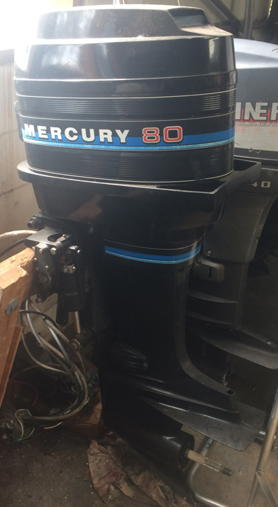 80 Hp Mercury Outboard Boat Motor For Sale