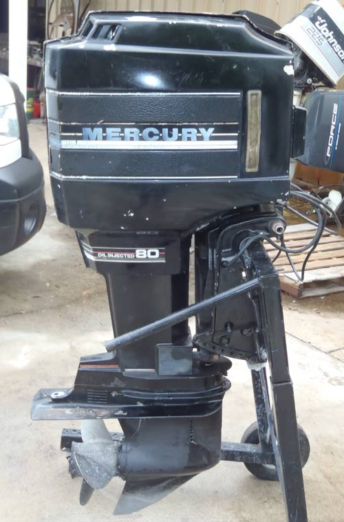 80 Hp Mercury Outboard Boat Motor For Sale