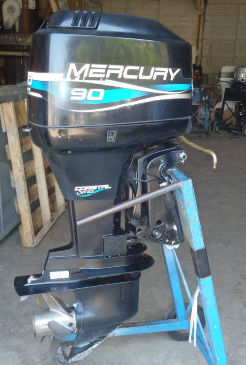 2003 90hp Mercury 2st Outboard Motors Autos Post