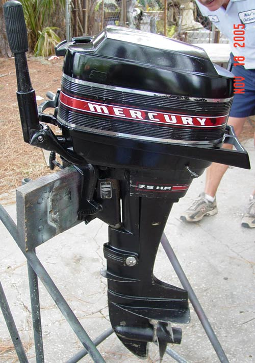 Zodiac Inflatable Boat >> 7.5hp Mercury Outboard For Sale