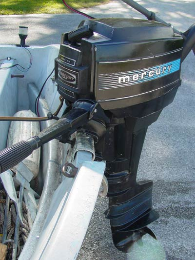 Mercury 9 8hp Electric Start Outboard
