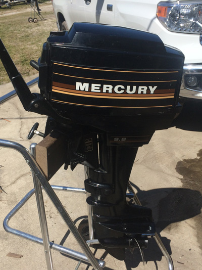 Trade In Value >> 9.8 Mercury Outboard