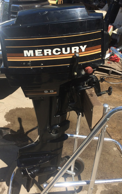 mercury 9.8 serial number location
