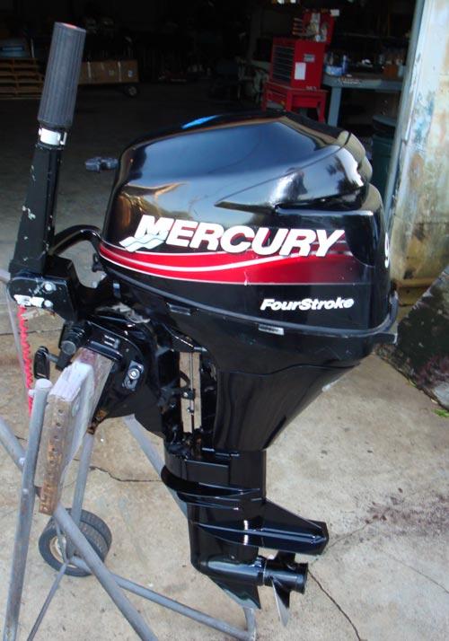 1999 Sail Power 9 9hp Mercury Bigfoot 25 U0026quot  4 Stroke