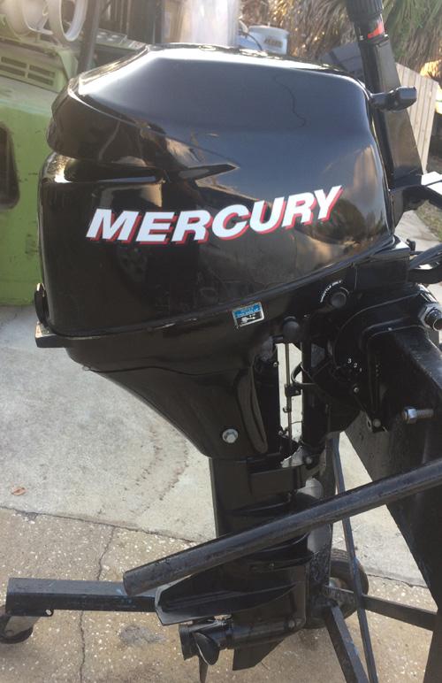 9 9 Hp Mercury Outboard Long Shaft 4 Stroke For Sale
