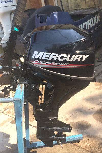 Mariner Outboard Motors >> 9.9 hp Mercury Outboard 4 Stroke For Sale