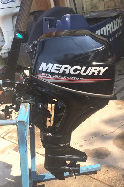 Small Outboard Motors >> 9.9 hp Mercury Outboard 4 Stroke For Sale