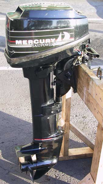 Mercury 9 9hp Outboard Motor Sailboat Motor Long Shaft