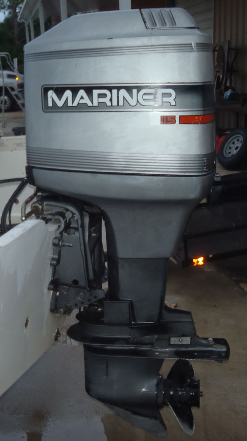 115 Hp Mariner Outboard Boat Motor For Sale