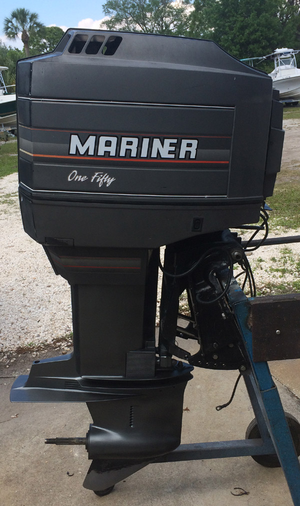 150 hp mercury mariner outboard boat motor for sale for Used 200 hp mercury outboard motors for sale
