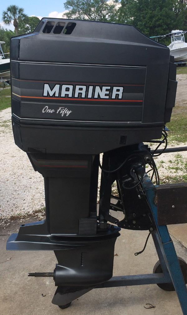 Motors For Sale >> 150 hp Mercury Mariner Outboard Boat Motor For Sale