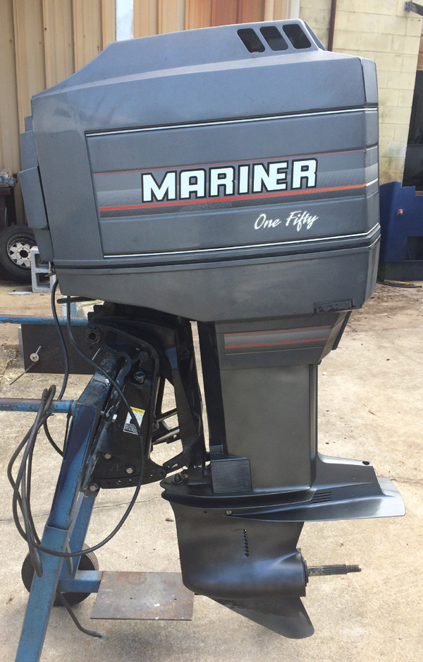150 Hp Mercury Mariner Outboard Boat Motor For Sale