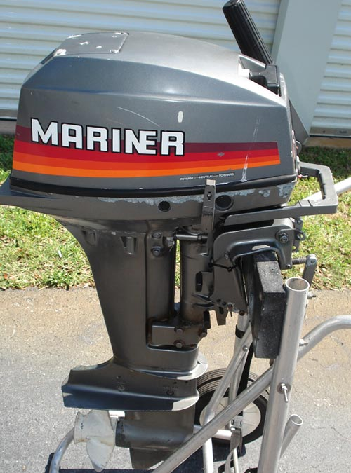 1988 25 Hp Mercury    Outboard    Manual