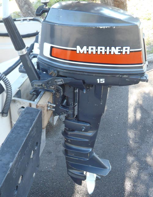 Mariner Outboard Motors >> Mariner 15 hp Long Shaft Outboard