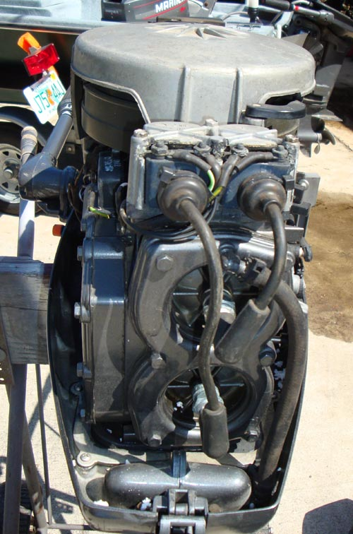 20 Hp Mercury Mariner Short Shaft Outboard Boat Motor