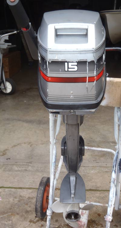 Small Outboard Motors >> 15 hp Yamaha Mariner Outboard Boat Motor For Sale
