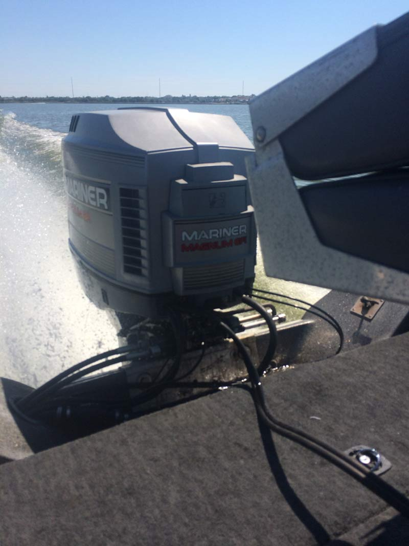 Motors For Sale >> 175hp Mariner Mercury EFI Outboard boat motor for sale.