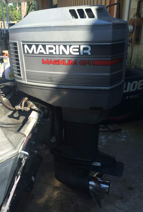 175hp Mariner Mercury EFI Outboard boat motor for sale