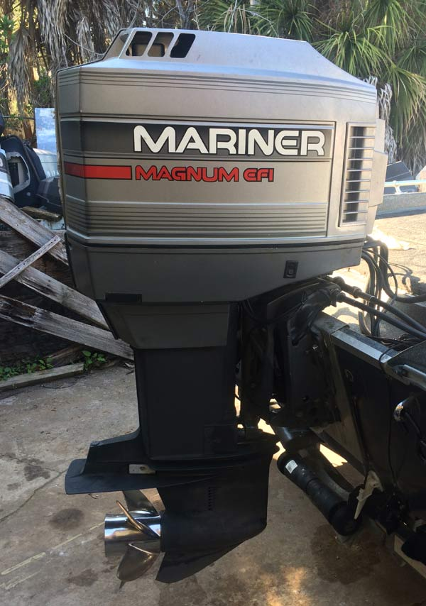 175hp mariner mercury efi outboard boat motor for sale for Used 175 hp outboard motors for sale