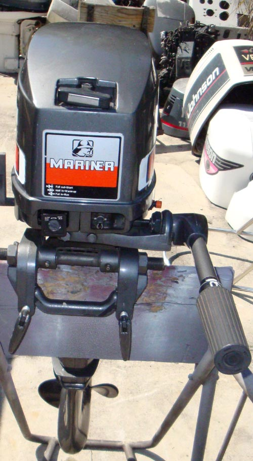 Trade In Value >> 20 hp Mercury Mariner Short Shaft Outboard Boat Motor