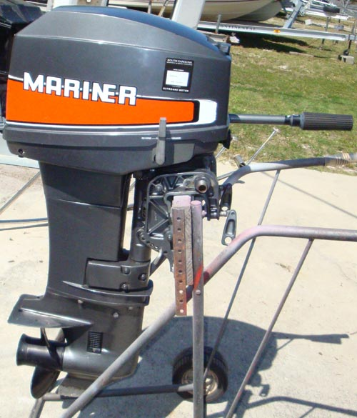 Used Small Boat Engines For Sale: 89 Mercury Outboard Motor