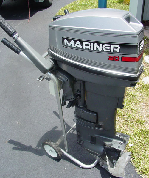 used 20hp mariner outboard boat motor for sale