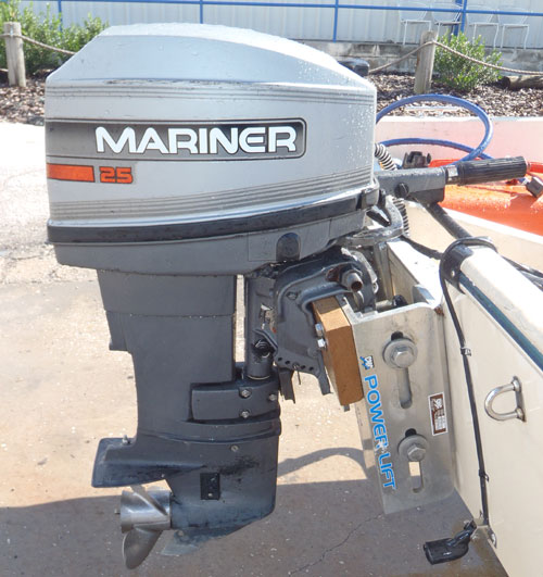 25 Hp Mariner Outboard Long Shaft For Sale Afa Marine Inc