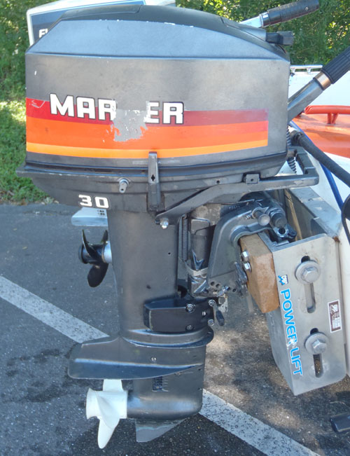 30 Hp Mariner Yamaha Outboard Boat Motor For Sale border=