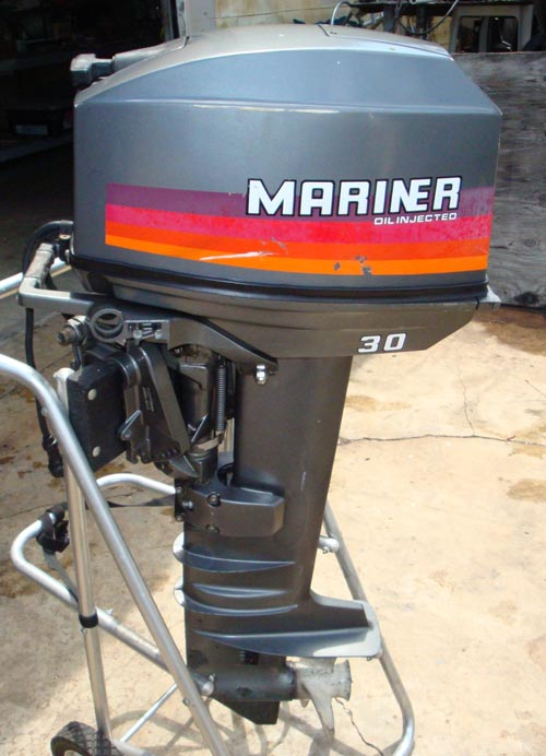 Mariner electric boat motor all boats for Electric outboard motors for sale