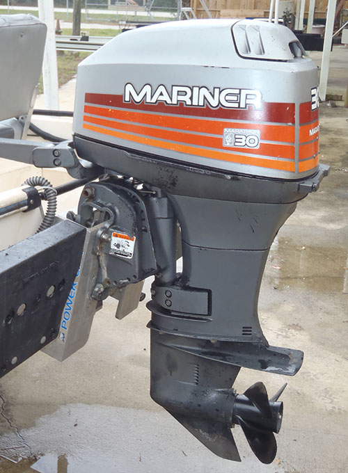 30 hp mariner outboard boat motor for sale for Outboard motor machine shop