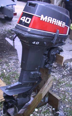 Used 40 Hp Mariner Outboard Motor For Sale Mariner Outboards border=